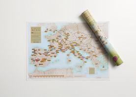 Scratch Off European Wine Print (Silk Art Paper)
