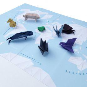 Origami World Map Craft kit (Craft Pack)