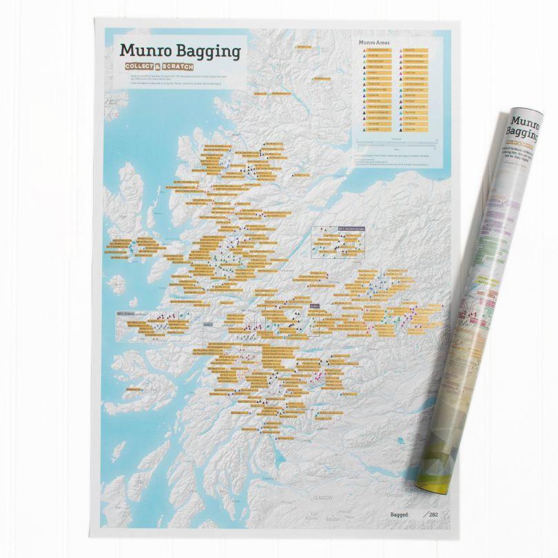 Scratch Off Munro-bagging Print (Silk Art Paper)